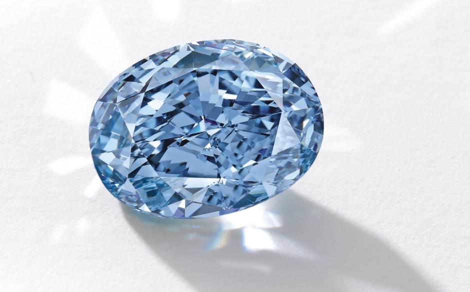 De Beers Millennium blue diamond: the £25 million stone?